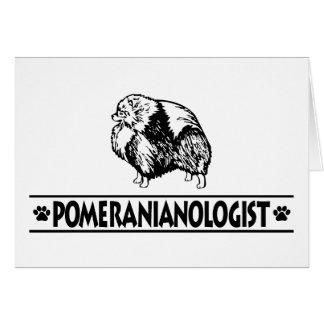 Humorous Pomeranian Card