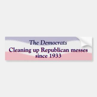 Humorous Pro Democratic Party  Sticker