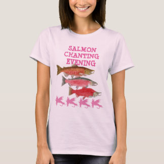 Humorous Salmon Apparel T-Shirt