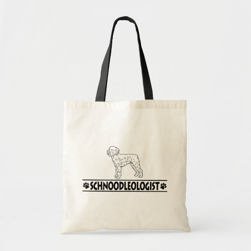 Humorous Schnoodle Bags