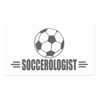 Humorous Soccer Pack Of Standard Business Cards