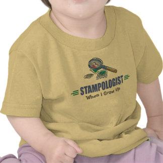 Humorous Stamp Collecting Shirt