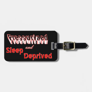 Humorous Travel Luggage Tag