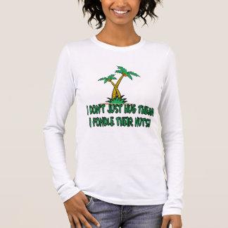 Humorous treehugger women's long sleeve T-Shirt