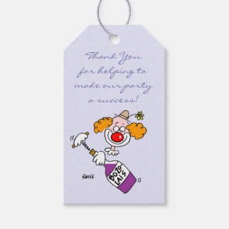 Humorous Wine Tasting Party Favors Tags