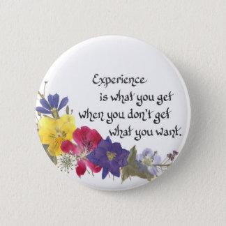 Humorous Wisdom 6 Cm Round Badge