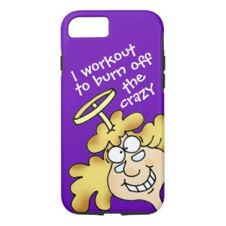 Humorous Workout i-phone 7 tough case