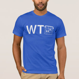 Humour WTF with Guitar F Chord T-Shirt