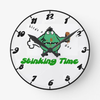 Humourous Farting Clock