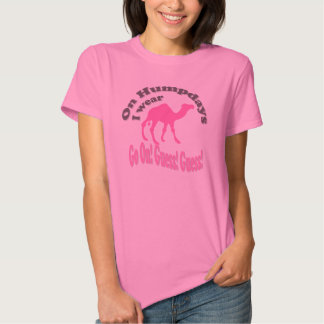 Hump day and camel tshirt