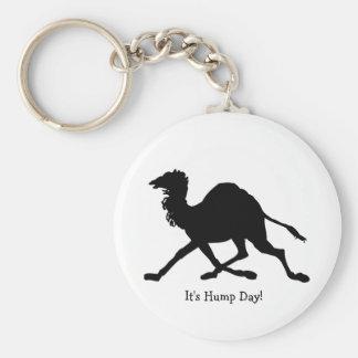 Hump Day Basic Round Button Key Ring