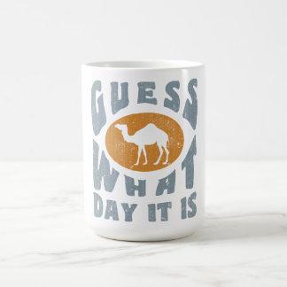 Hump day basic white mug