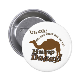 Hump Day Camel Pinback Buttons