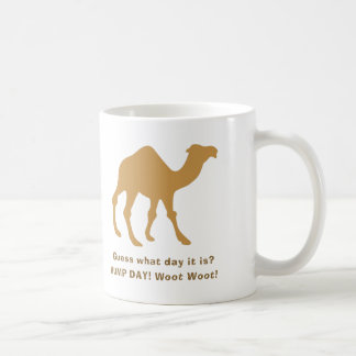 Hump Day Camel Coffee Latte Mug