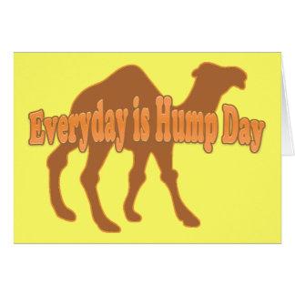 Hump Day Camel Greeting Card