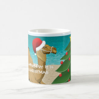 Hump Day Camel Merry Christmas Mug