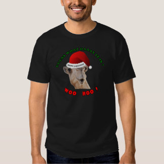 hump day camel merry christmas shirt