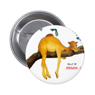 Hump Day Camel Overblown Button