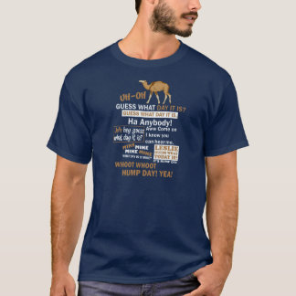 Hump Day Camel T-Shirt Funny