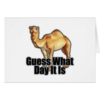 Hump Day Camel T Shirts j.png Greeting Card