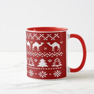 Hump Day Camel Ugly Christmas Sweater Mugs