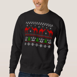 Hump Day Camel Ugly Christmas Sweater Sweatshirt