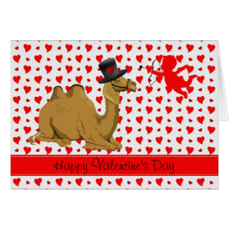 Hump Day Camel Valentine's Day card