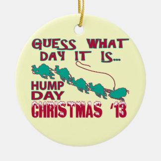 Hump Day Christmas Ornament