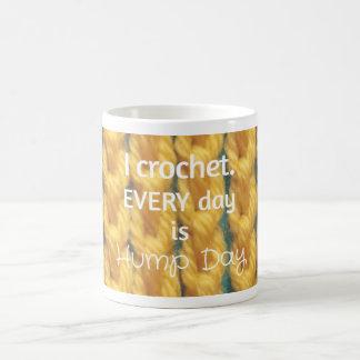 Hump Day Crochet Mug