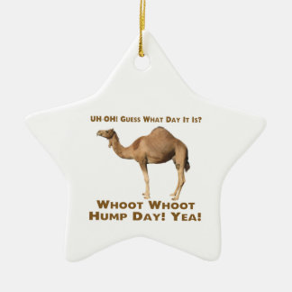 Hump Day Christmas Tree Ornament