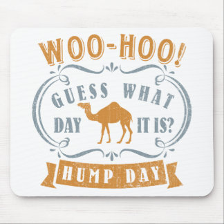 Hump day mouse pad