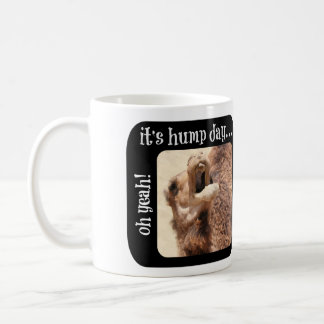 Hump Day Mug, different photos front & back Coffee Mug