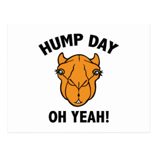 Hump Day Oh Yeah! Postcard