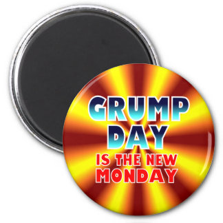 Hump Day Spoof Magnet. 6 Cm Round Magnet