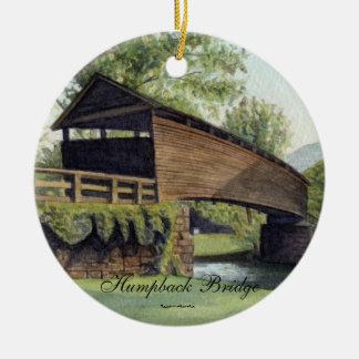 Humpback Bridge Ceramic Ornament