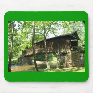 Humpback Covered Bridge Mouse Pad