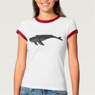 Humpback Whale Cartoon T-Shirt
