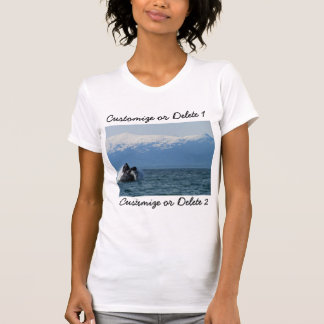 Humpback Whale Head; Customizable T-Shirt