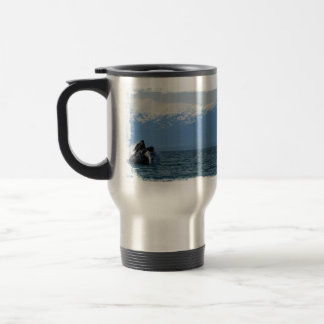 Humpback Whale Head Travel Mug