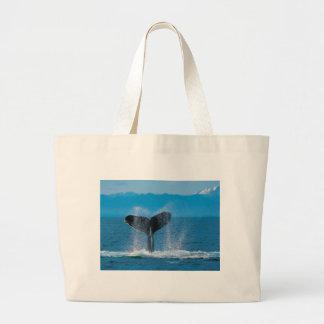 Humpback Whale Large Tote Bag