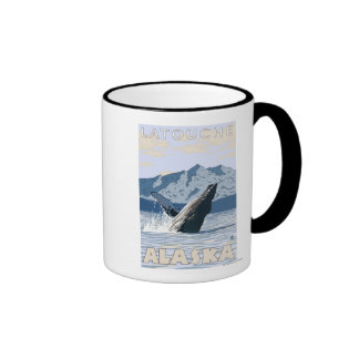 Humpback Whale - Latouche, Alaska Coffee Mug