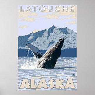 Humpback Whale - Latouche Alaska Print
