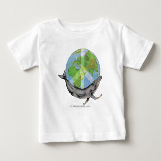 Humpback Whale Peace design. Baby T-Shirt