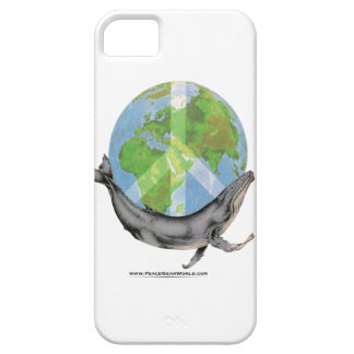 Humpback Whale Peace design. iPhone 5 Cover