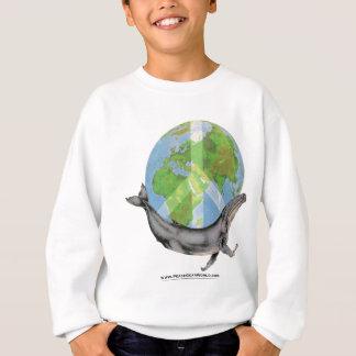Humpback Whale Peace design. Sweatshirt