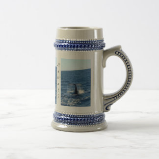 humpback-whale-tail beer stein