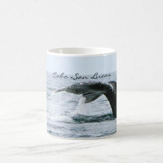 Humpback Whale Tail, Cabo San Lucas Basic White Mug