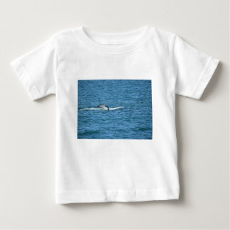 HUMPBACK WHALE TAIL MACKAY QUEENSLAND AUSTRALIA BABY T-Shirt