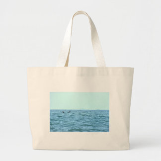 HUMPBACK WHALE TAIL MACKAY QUEENSLAND AUSTRALIA LARGE TOTE BAG