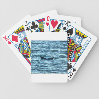 HUMPBACK WHALE TAIL QUEENSLAND AUSTRALIA ART BICYCLE PLAYING CARDS